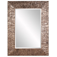 Howard Elliott Collection 37150 Linden 49 X 37 inch Champagne and Black Wall Mirror, Rectangle photo thumbnail