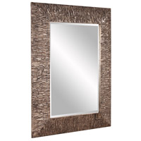 Howard Elliott Collection 37150 Linden 49 X 37 inch Champagne and Black Wall Mirror, Rectangle alternative photo thumbnail