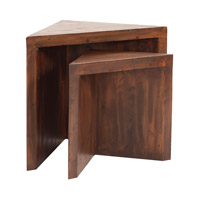 Howard Elliott Collection 37187 Signature 30 X 24 inch Walnut Stain Nesting Side Table