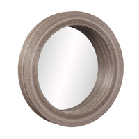 Howard Elliott Collection 39010 Pier 5 inch Natural Bamboo Wall Mirror, Round photo thumbnail
