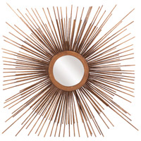 Aster 16 X 16 inch Copper Mirror Home Decor, Round
