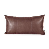 Howard Elliott Collection 4-192 Avanti 22 X 6 inch Deep Brown Pillow photo thumbnail