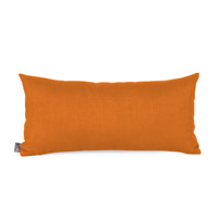 Howard Elliott Collection 4-229 Kidney 22 X 6 inch Orange Pillow, Linen Texture