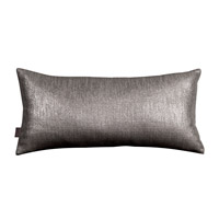Howard Elliott Collection 4-236 Glam 22 X 6 inch Graphite Pillow photo thumbnail