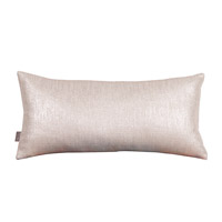 Howard Elliott Collection 4-239F Glam 22 X 6 inch Metallic Silver Pillow photo thumbnail