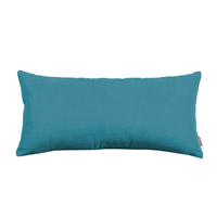 Howard Elliott Collection 4-250 Mojo 22 X 11 inch Turquoise Blue Pillow photo thumbnail