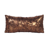 Howard Elliott Collection 4-295 Gold Cougar 22 X 6 inch Gold Metallic Pillow, Rectangle photo thumbnail