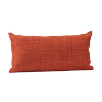 Howard Elliott Collection 4-885F Kidney 22 inch Coco Coral Pillow, with Down Insert photo thumbnail