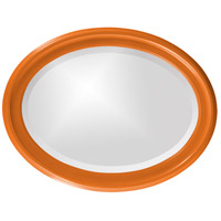 Howard Elliott Collection 40107O George 33 X 25 inch Orange Wall Mirror, Oval alternative photo thumbnail