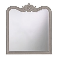 Howard Elliott Collection 4079N Eliza 38 X 34 inch Black Wall Mirror, Rectangle photo thumbnail