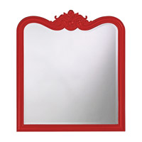 Howard Elliott Collection 4079R Eliza 38 X 34 inch Black Wall Mirror, Rectangle photo thumbnail