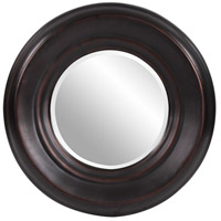 Dublin 33 X 33 inch Burnished Copper Wall Mirror, Round