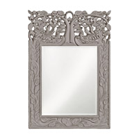 Howard Elliott Collection 4084N Oakvale 25 X 17 inch Khaki Wall Mirror, Rectangle photo thumbnail