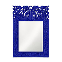 Howard Elliott Collection 4084RB Oakvale 25 X 17 inch Royal Blue Wall Mirror, Rectangle photo thumbnail