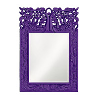 Howard Elliott Collection 4084RP Oakvale 25 X 17 inch Royal Purple Wall Mirror, Rectangle photo thumbnail