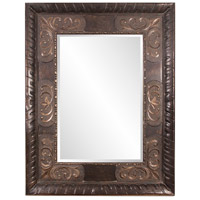 Tate 84 X 60 inch Deep Bronze Floor Mirror, Rectangle, Small