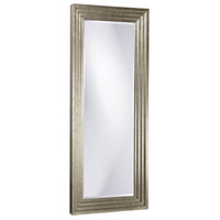 Howard Elliott Collection 43057 Delano 82 X 34 inch Bright Silver Leaf Floor Mirror, Rectangle photo thumbnail