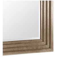 Howard Elliott Collection 43057SM Delano 82 X 34 inch Bright Silver Leaf Floor Mirror, Rectangle, Small alternative photo thumbnail
