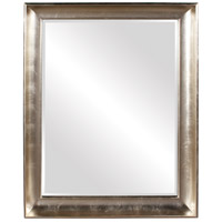 Howard Elliott Collection 43094 Montclair 56 X 45 inch Silver Leaf Wall Mirror, Rectangle photo thumbnail