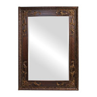 Howard Elliott Collection 43100 Lila 84 X 60 inch Antique Gold Wall Mirror, Rectangle  photo thumbnail