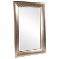 Howard Elliott Collection 43103 Baron 78 X 50 inch Bright Silver Leaf Floor Mirror, Rectangle photo thumbnail