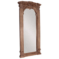 Howard Elliott Collection 43118 Bonjour 86 X 39 inch Tuscan Brown Wall Mirror, Rectangle, Whitewash Accents photo thumbnail