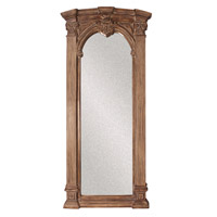 Howard Elliott Collection 43118 Bonjour 86 X 39 inch Tuscan Brown Wall Mirror, Rectangle, Whitewash Accents alternative photo thumbnail