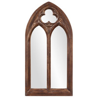 Howard Elliott Collection 43124 Basilica 69 X 36 inch Tuscan Brown Wall Mirror, Rectangle, Antique Washed Accents photo thumbnail