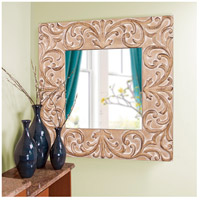 Howard Elliott Collection 43126 Larson 39 X 39 inch Antique Brown Wall Mirror, Square alternative photo thumbnail