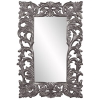 Howard Elliott Collection 43130CH Augustus 70 X 46 inch Charcoal Wall Mirror, Rectangle photo thumbnail