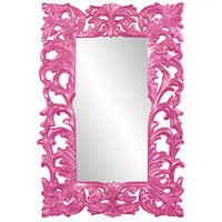 Howard Elliott Collection 43130HP Augustus 70 X 46 inch Hot Pink Wall Mirror, Rectangle photo thumbnail