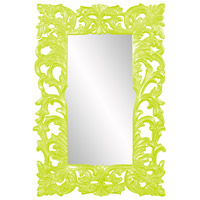 Howard Elliott Collection 43130MG Augustus 70 X 46 inch Moss Green Wall Mirror, Rectangle photo thumbnail