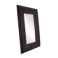 Howard Elliott Collection 43132 Goliath 90 X 61 inch Antique Black Floor Mirror, Rectangle photo thumbnail