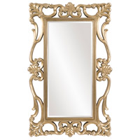 Whittington 71 X 44 inch Antique Chamgpagne Silver Wall Mirror, Ornate Scroll, Rectangle