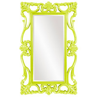 Whittington 71 X 44 inch Glossy Green Wall Mirror, Rectangle