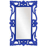 Whittington 71 X 44 inch Glossy Blue Wall Mirror, Rectangle