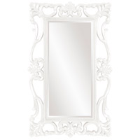 Whittington 71 X 44 inch Glossy White Wall Mirror, Rectangle
