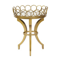 Signature Silver Accent Table Home Decor