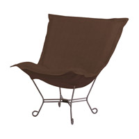 Sterling Rich Chocolate Brown Accent Chair