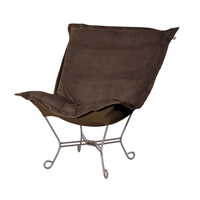 Bella Deep Chocolate Brown Accent Chair