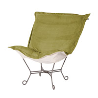 Bella Moss Green Accent Chair