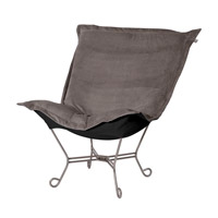 Howard Elliott Collection 500-225 Bella Pewter Gray Accent Chair photo thumbnail