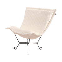 Howard Elliott Collection 500-256 Mink Snow Accent Chair photo thumbnail