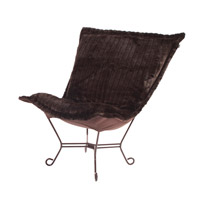 Howard Elliott Collection 500-285 Mink Brown Accent Chair photo thumbnail