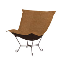 Howard Elliott Collection 500-886 Coco Rich Golden Topaz Brown Accent Chair photo thumbnail