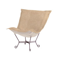 Coco Stone Brown Accent Chair