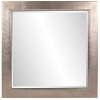 Howard Elliott Collection 5036 Millennium 60 X 30 inch Bright Silver Leaf Wall Mirror, Square, Small photo thumbnail