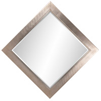 Howard Elliott Collection 5036 Millennium 60 X 30 inch Bright Silver Leaf Wall Mirror, Square, Small alternative photo thumbnail