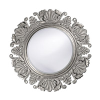 Howard Elliott Collection 51177N Anita 44 X 44 inch Nickel Wall Mirror, Round photo thumbnail