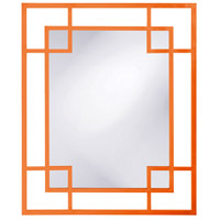Howard Elliott Collection 51219O Lois 53 X 43 inch Orange Wall Mirror, Rectangle photo thumbnail